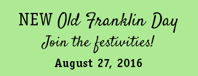 New Old Franklin Day, Franklin NY, August 27, 2016