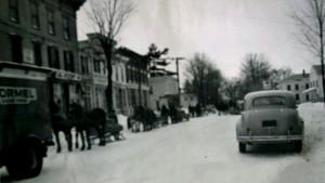 Main Street, Franklin NY