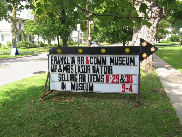 Franklin Railroad and Community Museum - Franklin, NY