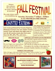 Fall Festival in Franklin NY 2015 - PDF