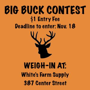 Big Buck Contest 2016